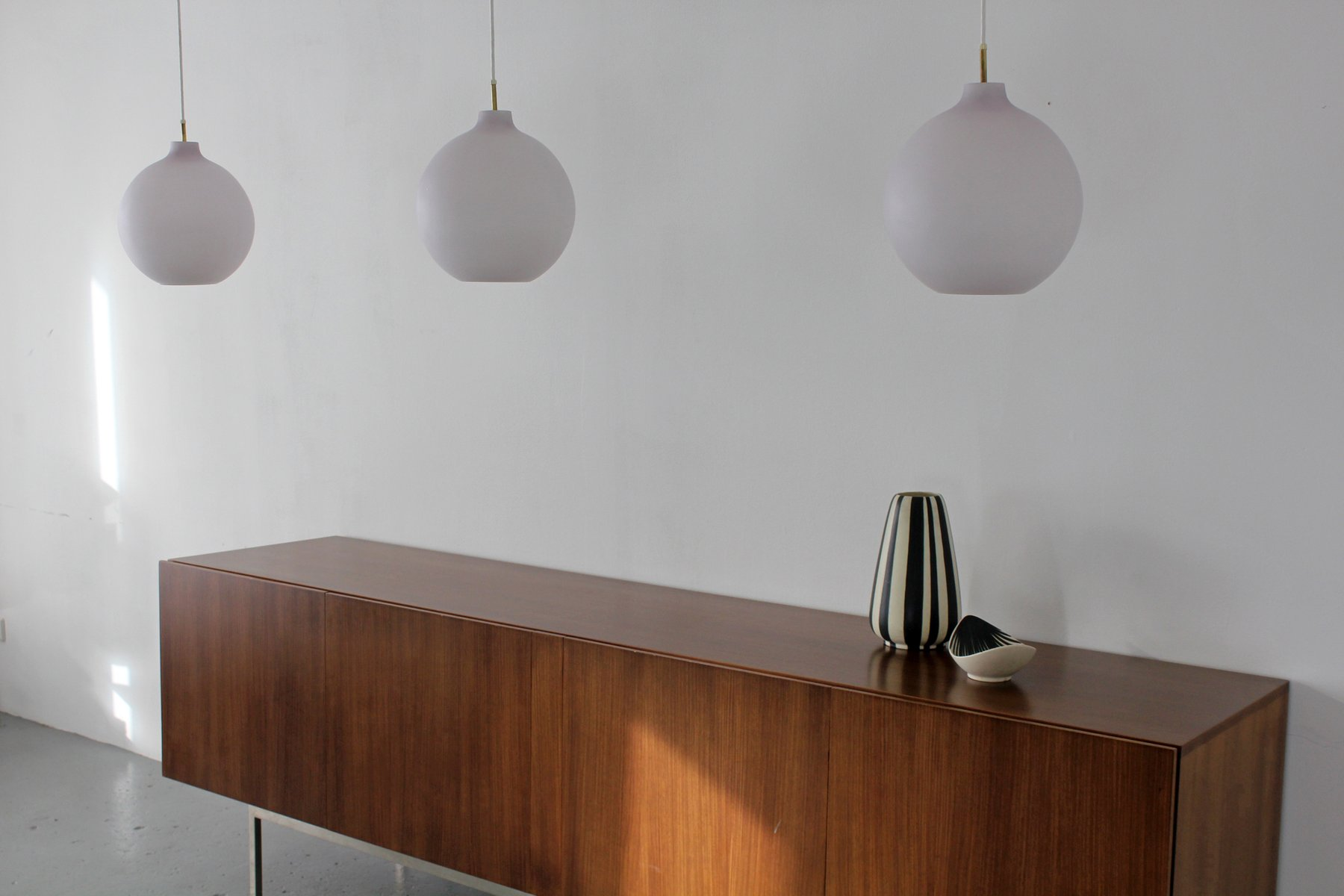 danish modern pendant lamp by vilhelm wohlert for louis poulsen  - danish modern pendant lamp by vilhelm wohlert for louis poulsen