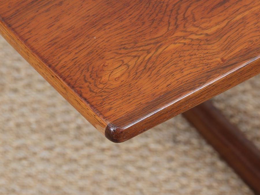 table basse en palissandre de rio danemark 1960s en vente sur pamono. Black Bedroom Furniture Sets. Home Design Ideas
