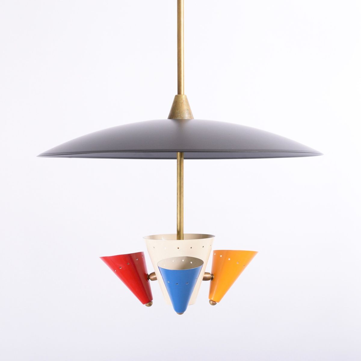 Vintage ceiling light from arredoluce for sale at pamono for Arredo luce