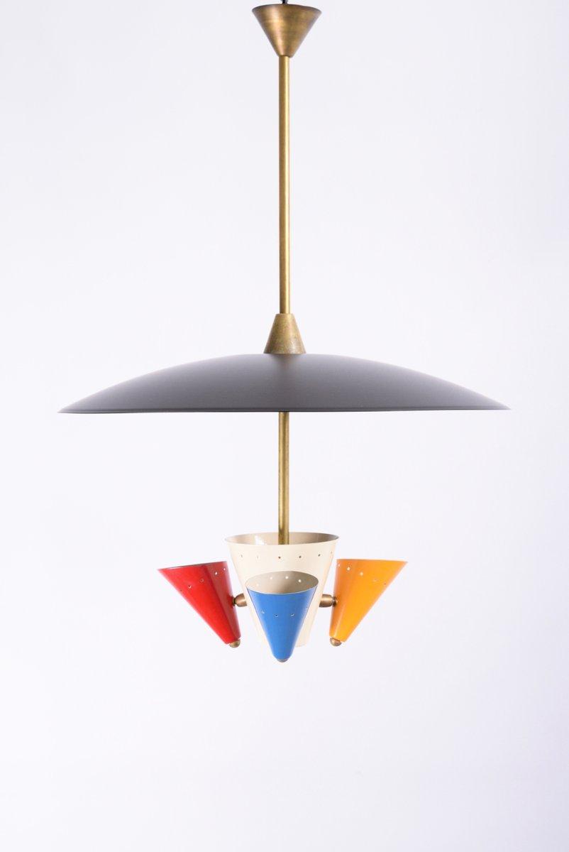 Vintage ceiling light from arredoluce for sale at pamono for Arredo luce