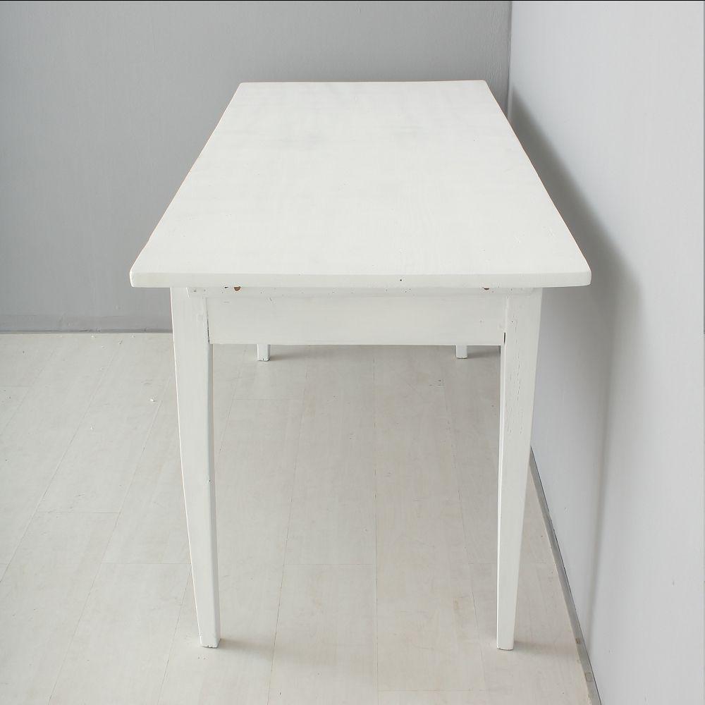 antiker weißer esstisch bei pamono kaufen, Esstisch ideennn