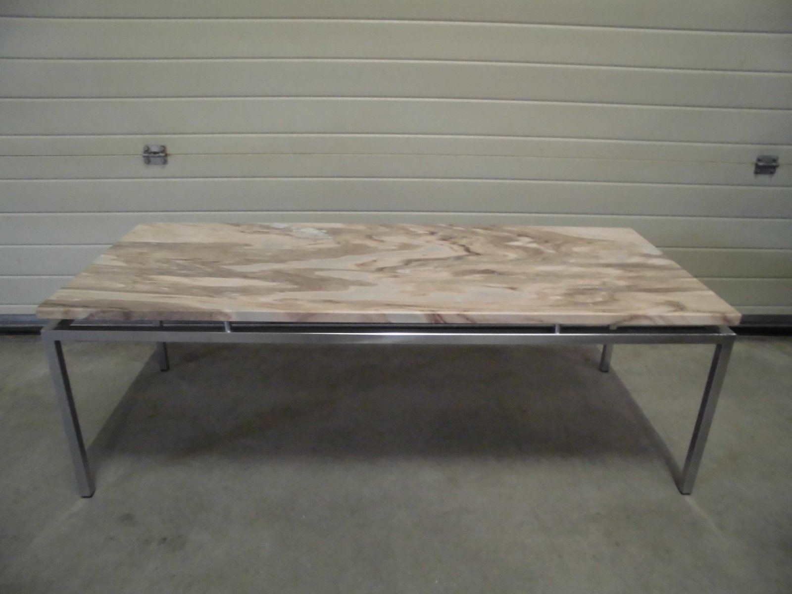 Dutch Vintage Marble Coffee Table 1969 for sale at Pamono
