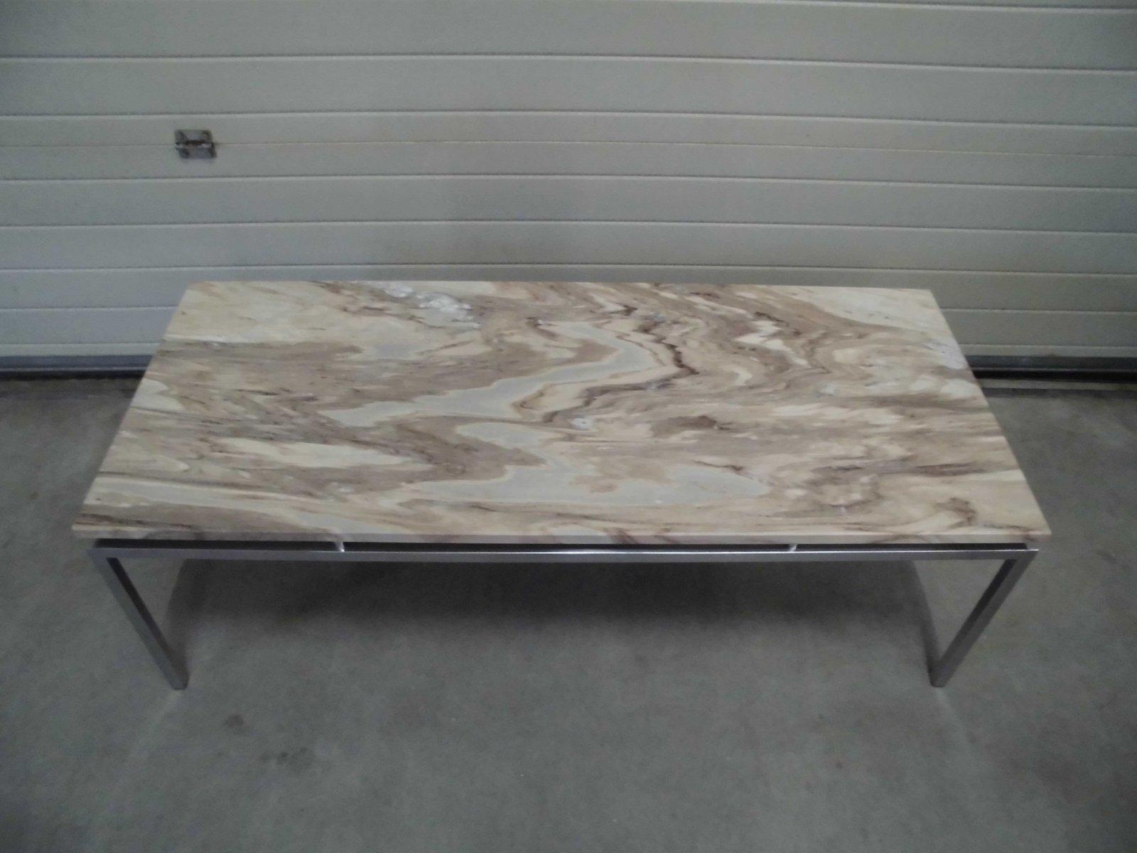 niederl ndischer vintage marmor couchtisch 1969 bei. Black Bedroom Furniture Sets. Home Design Ideas