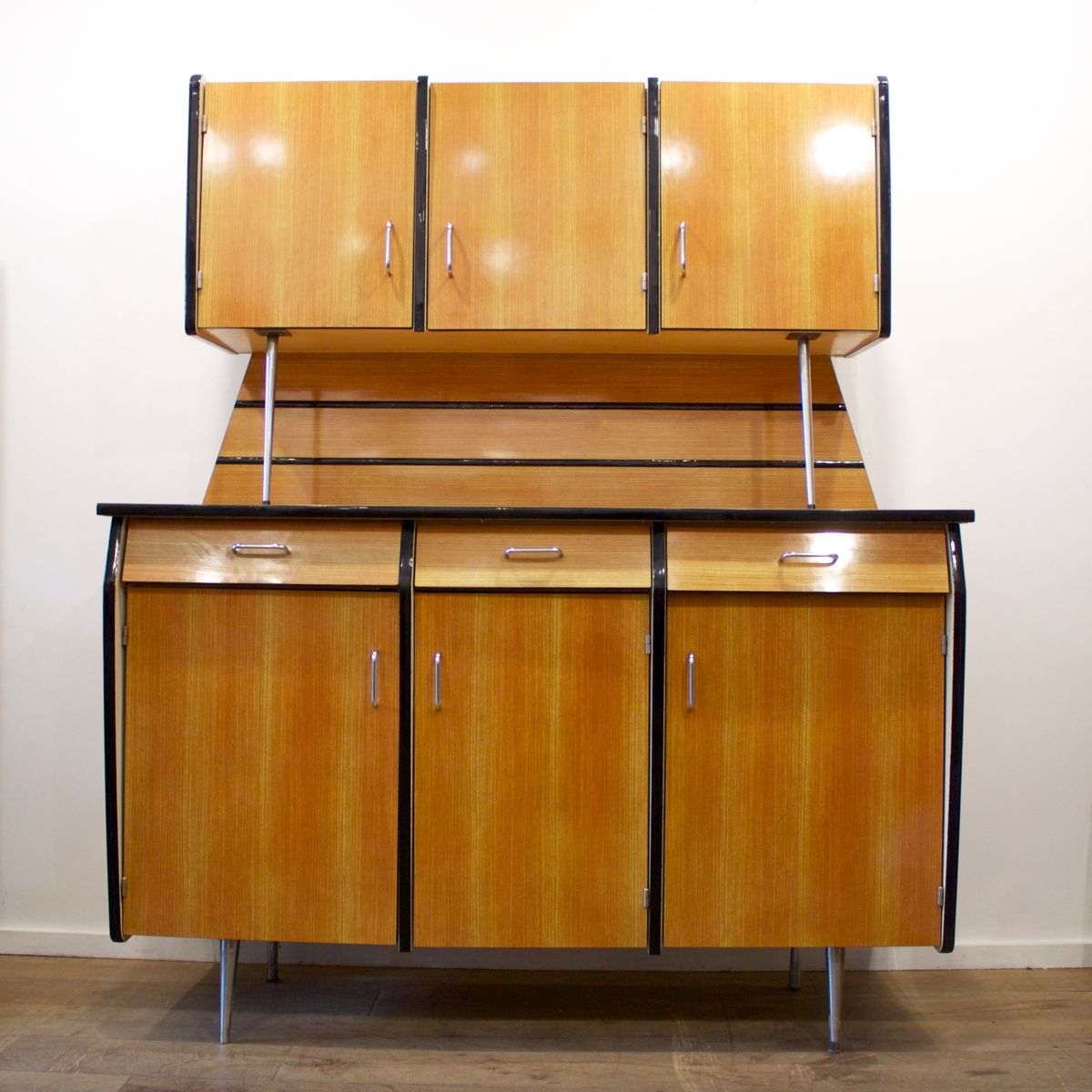 Kitchen Dresser French Vintage Formica Kitchen Dresser 1950s For Sale At Pamono