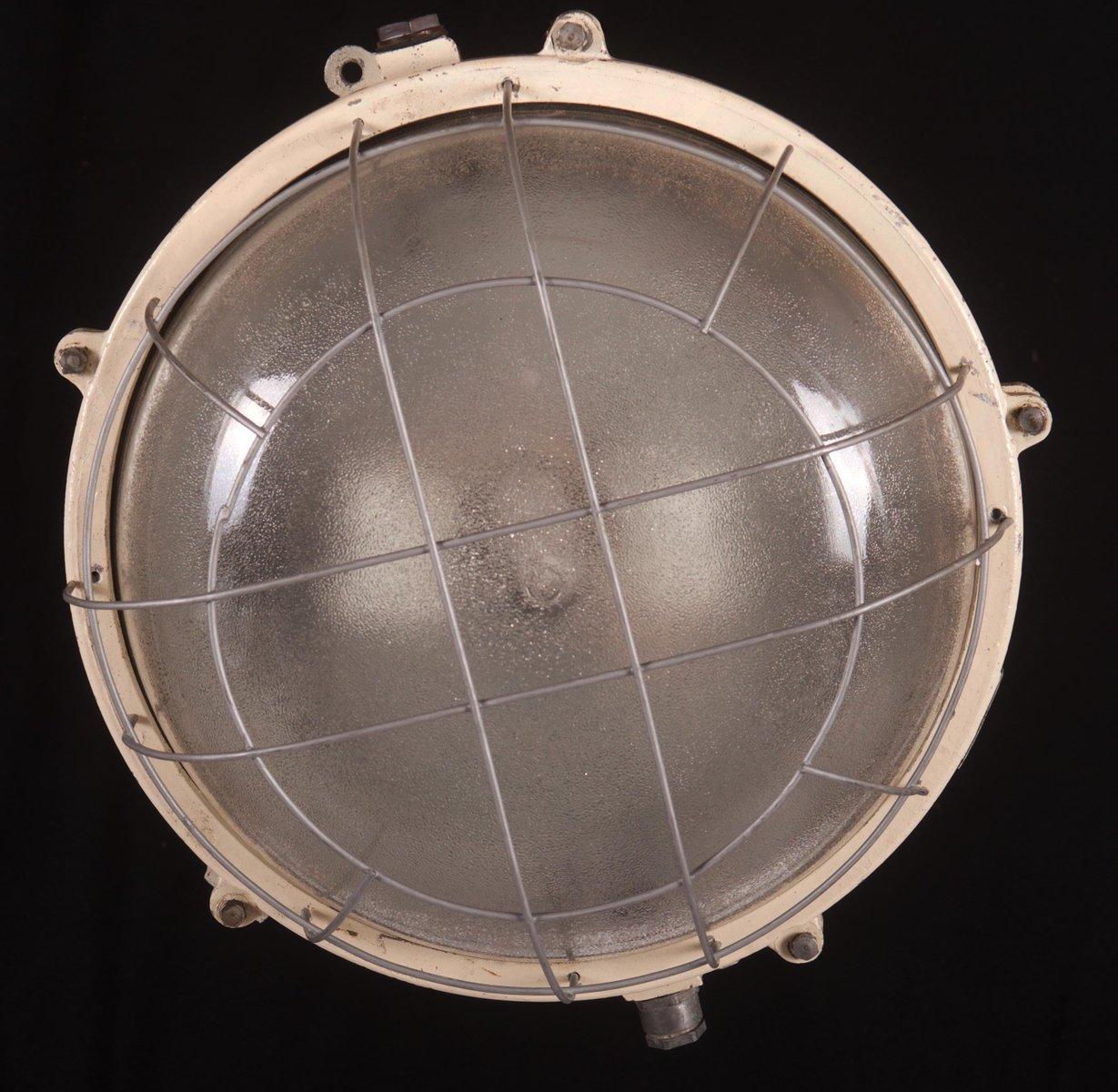 industrie wandlampe oder deckenlampe aus eisen 1960er bei pamono kaufen. Black Bedroom Furniture Sets. Home Design Ideas