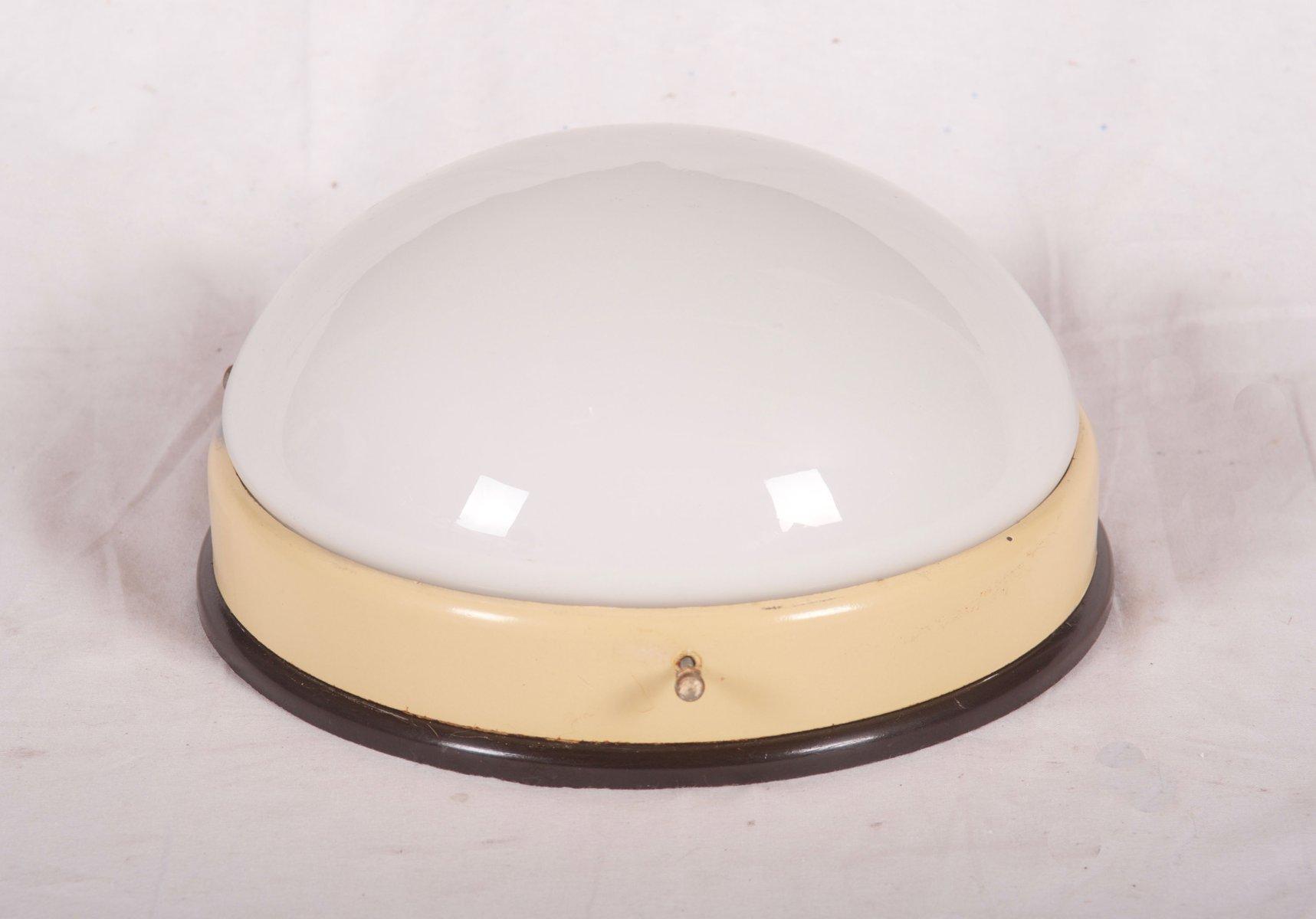 kleine industrie wandleuchte oder deckenlampe aus bakelit 1940er bei pamono kaufen. Black Bedroom Furniture Sets. Home Design Ideas