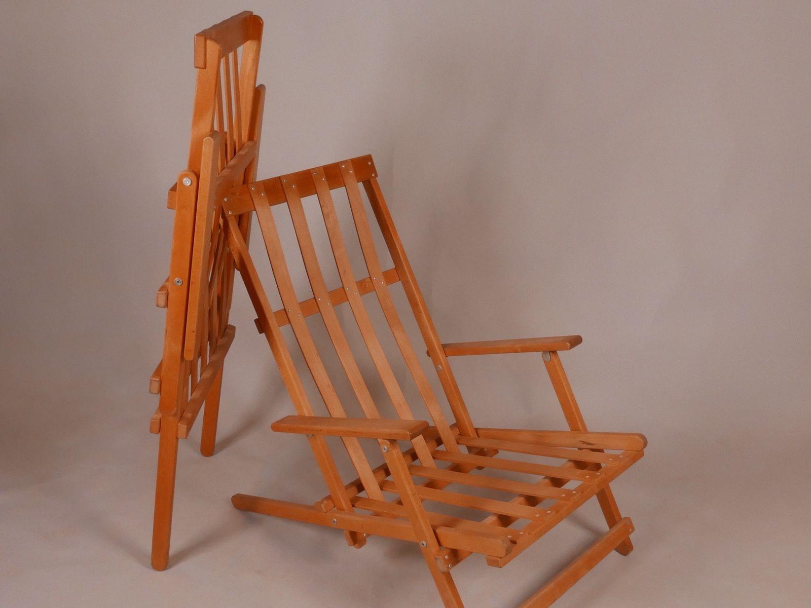 Chaises longues de jardin mod le 50 par b rge mogensen for Chaises longues pour jardin