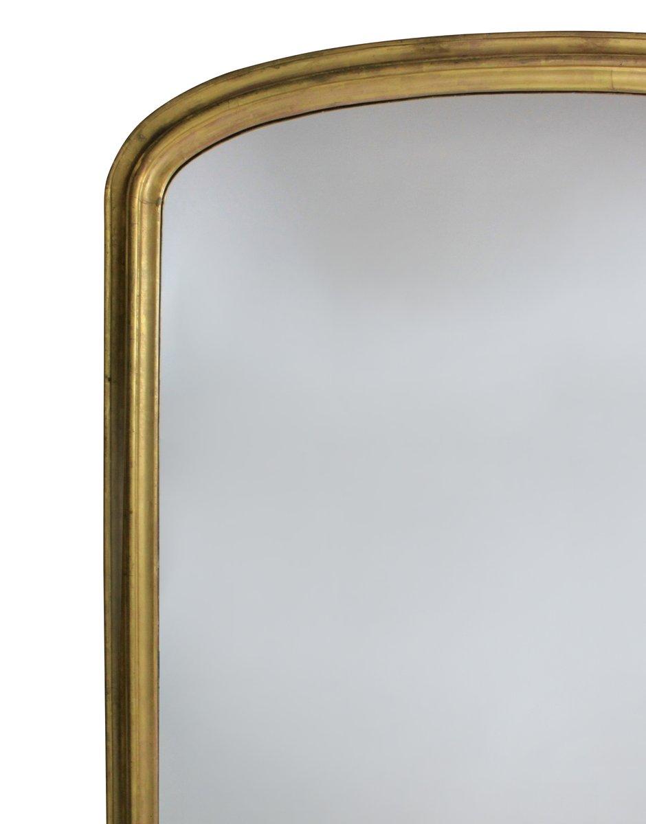 Grand miroir avec cadre dor l 39 eau en vente sur pamono for Miroir de l eau