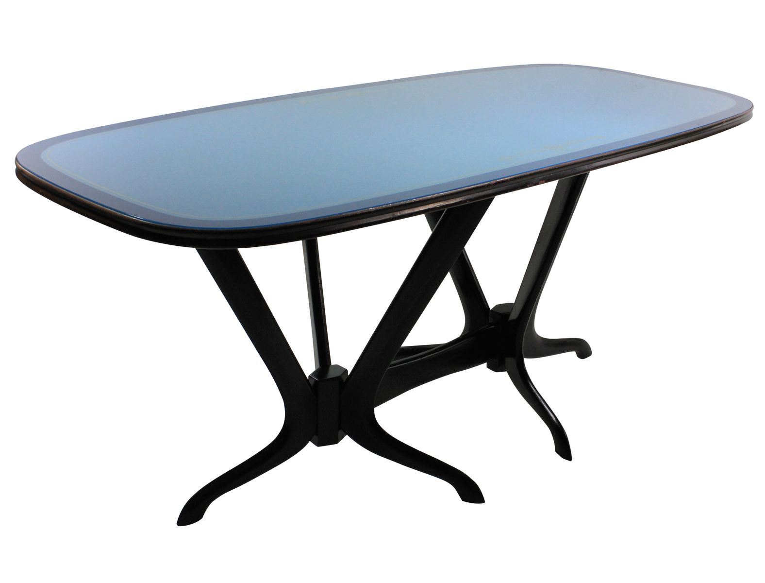 Italian Sculptural Dining Table 1950s For Sale At Pamono