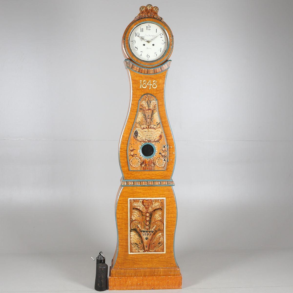 Horloge de mora antique su de 1848 en vente sur pamono for Horloge eames