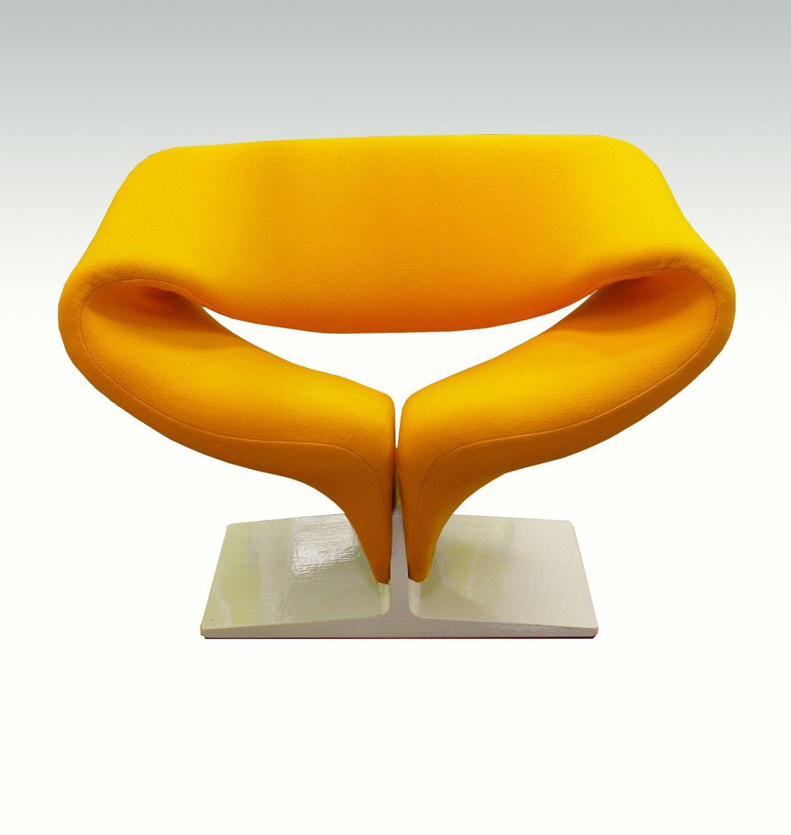chaise mod le f 582 ribbon par pierre paulin pour artifort pays bas 1960s en vente sur pamono. Black Bedroom Furniture Sets. Home Design Ideas