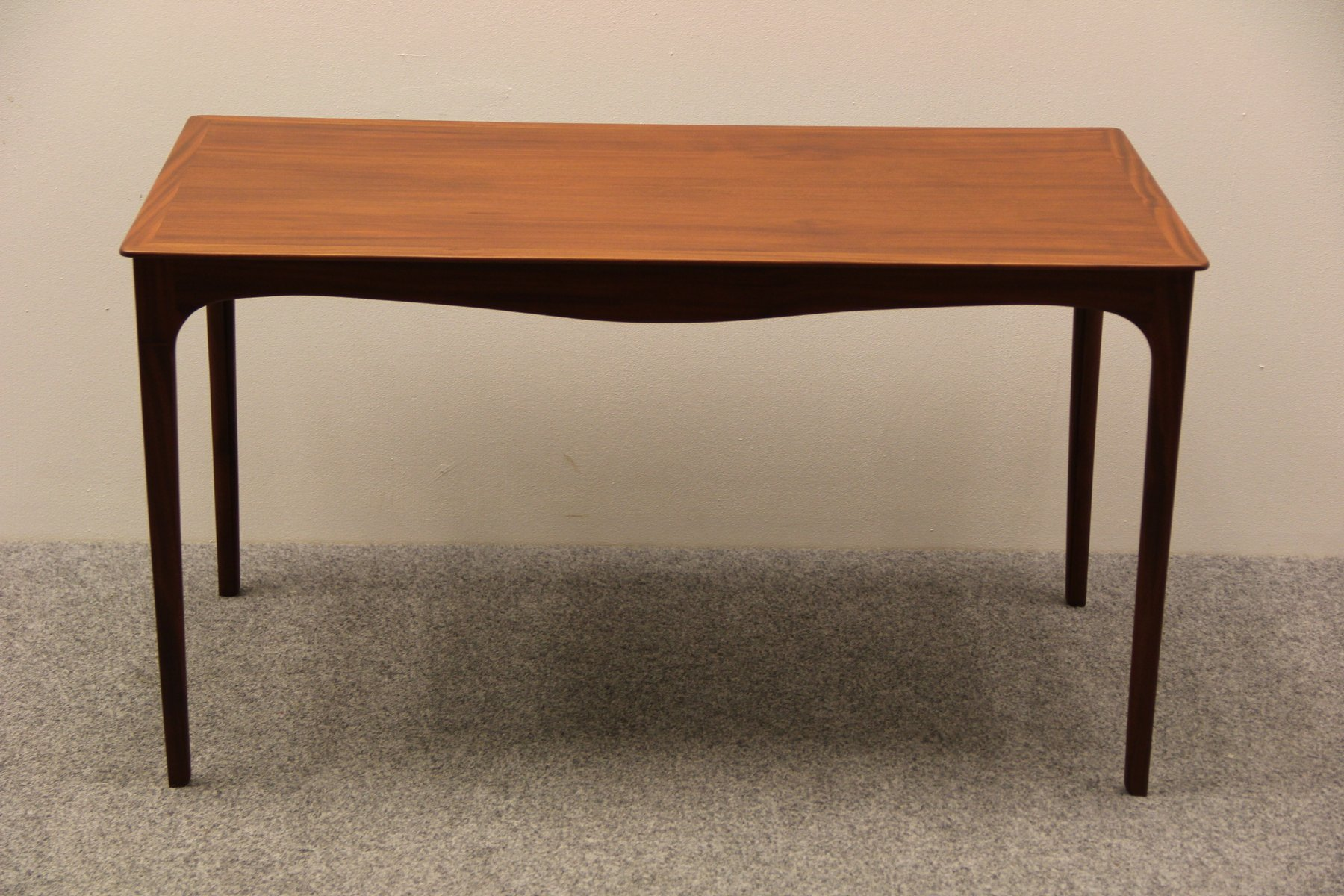 Danish Mahogany Coffee Table by Ole Wanscher for A J Iversen