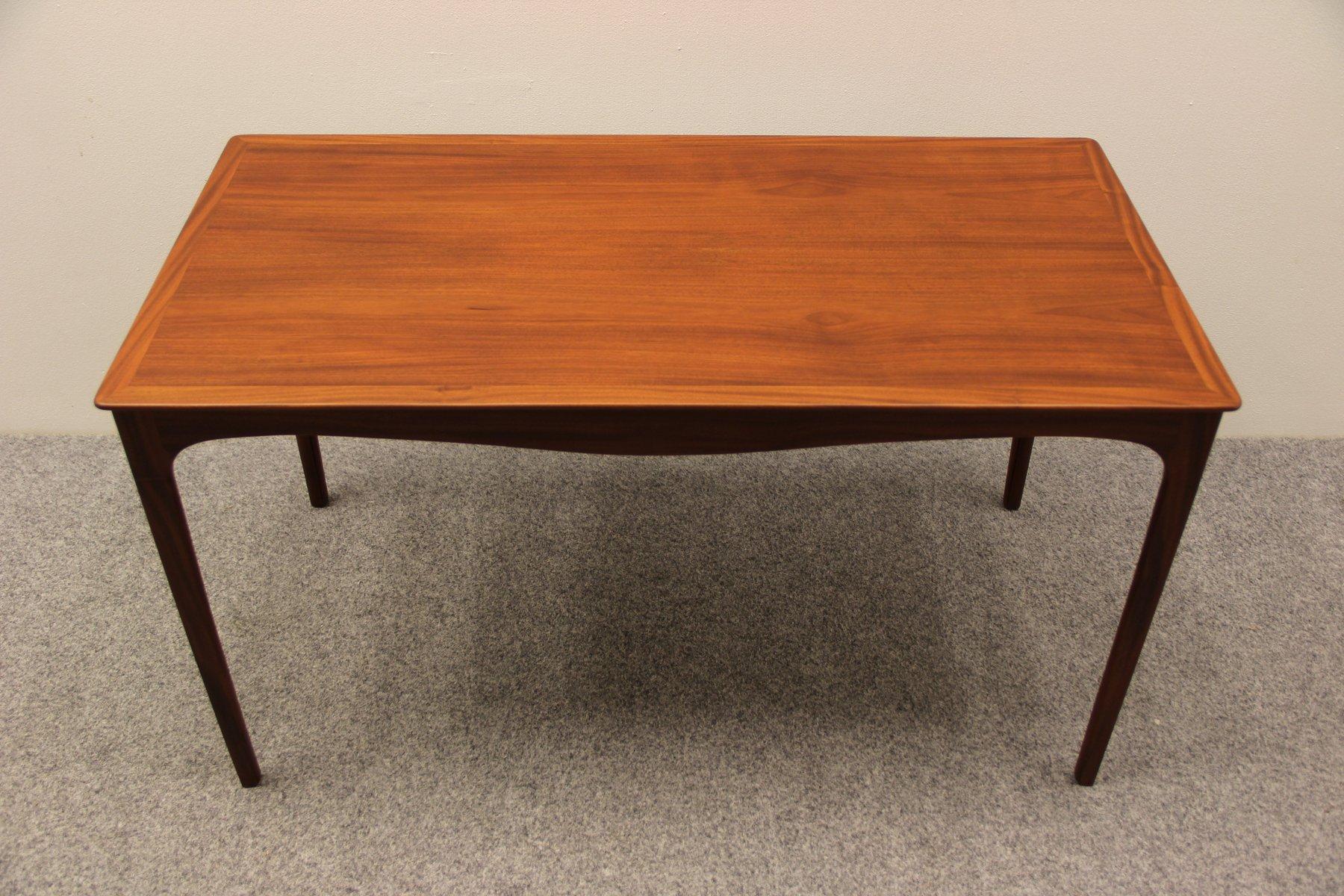 danish mahogany coffee tableole wanscher for a.j. iversen
