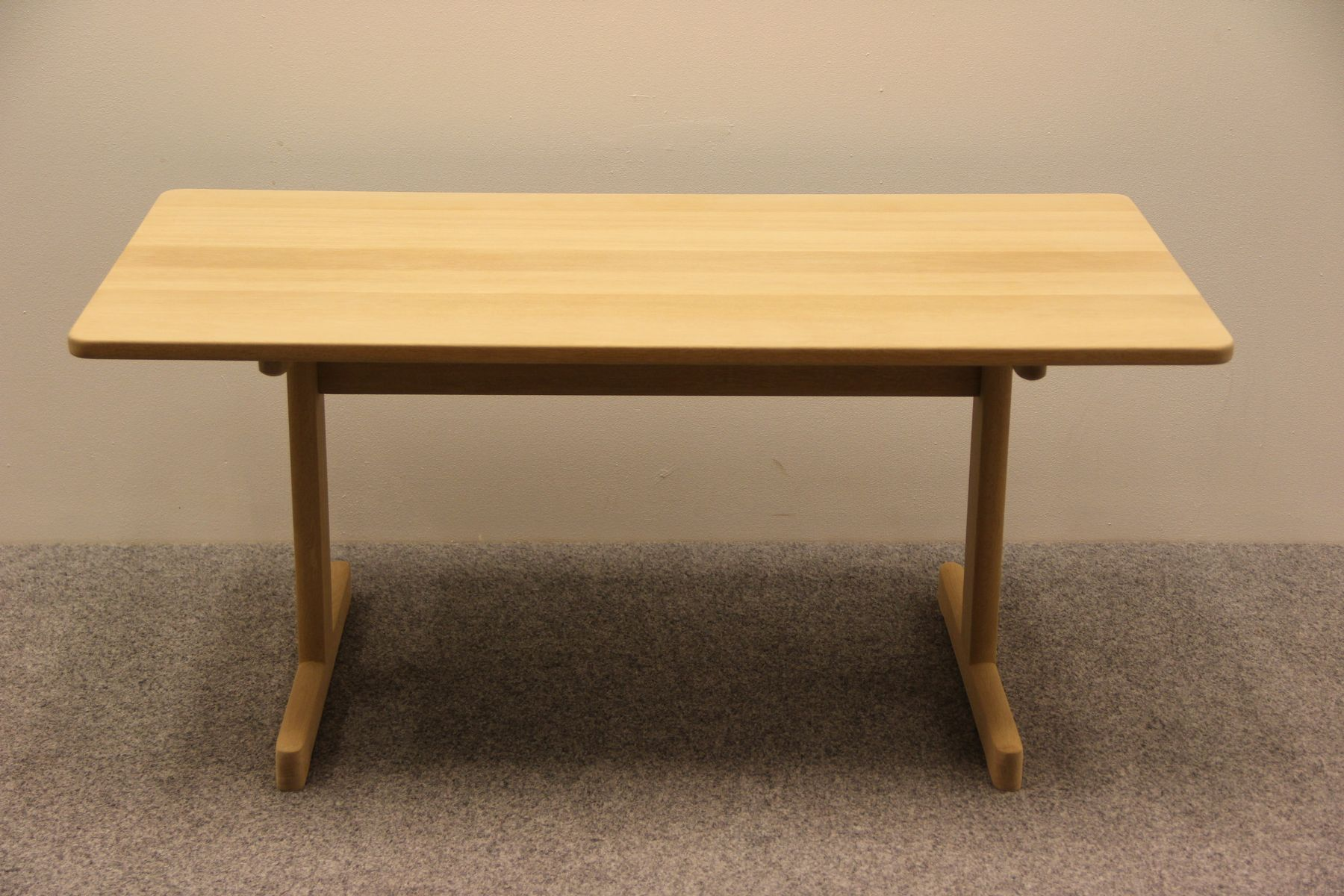 Table basse en h tre model 5270 par b rge mogensen pour - Table en hetre ...