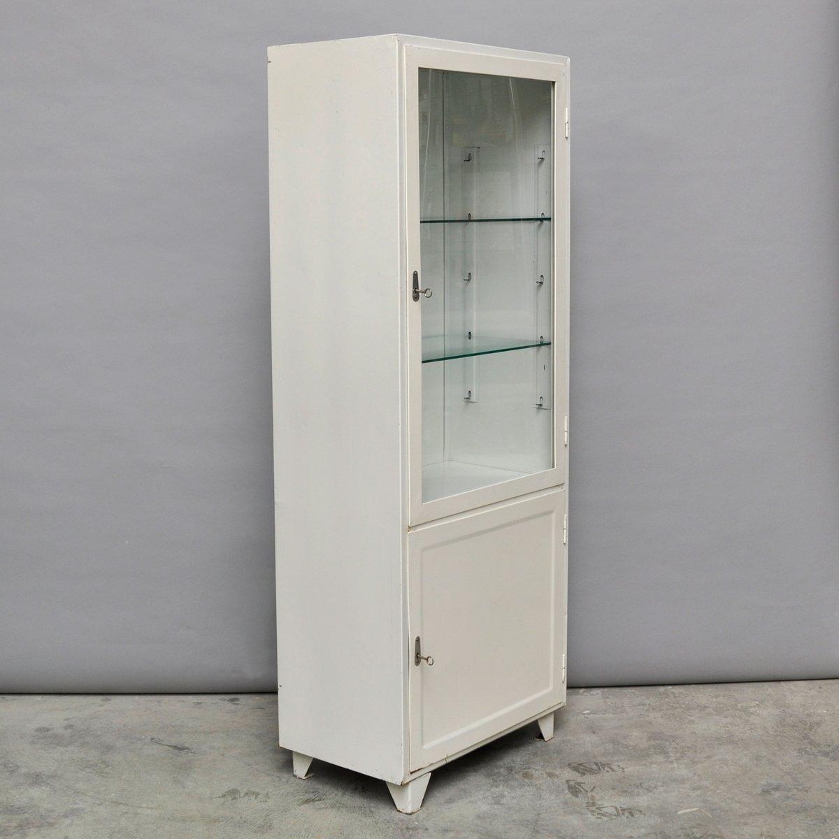 Polish Vintage Steel and Glass Medicine Cabinet, 1970s for sale at ...