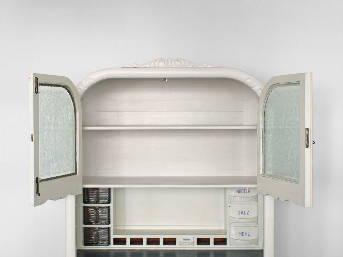vintage k chenschrank 1940er bei pamono kaufen. Black Bedroom Furniture Sets. Home Design Ideas
