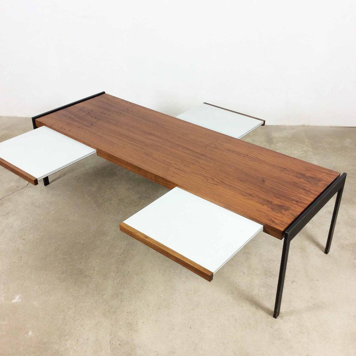 Walnut Coffee Table by Wilhelm Renz, 1960s - Walnut Coffee Table By Wilhelm Renz, 1960s For Sale At Pamono