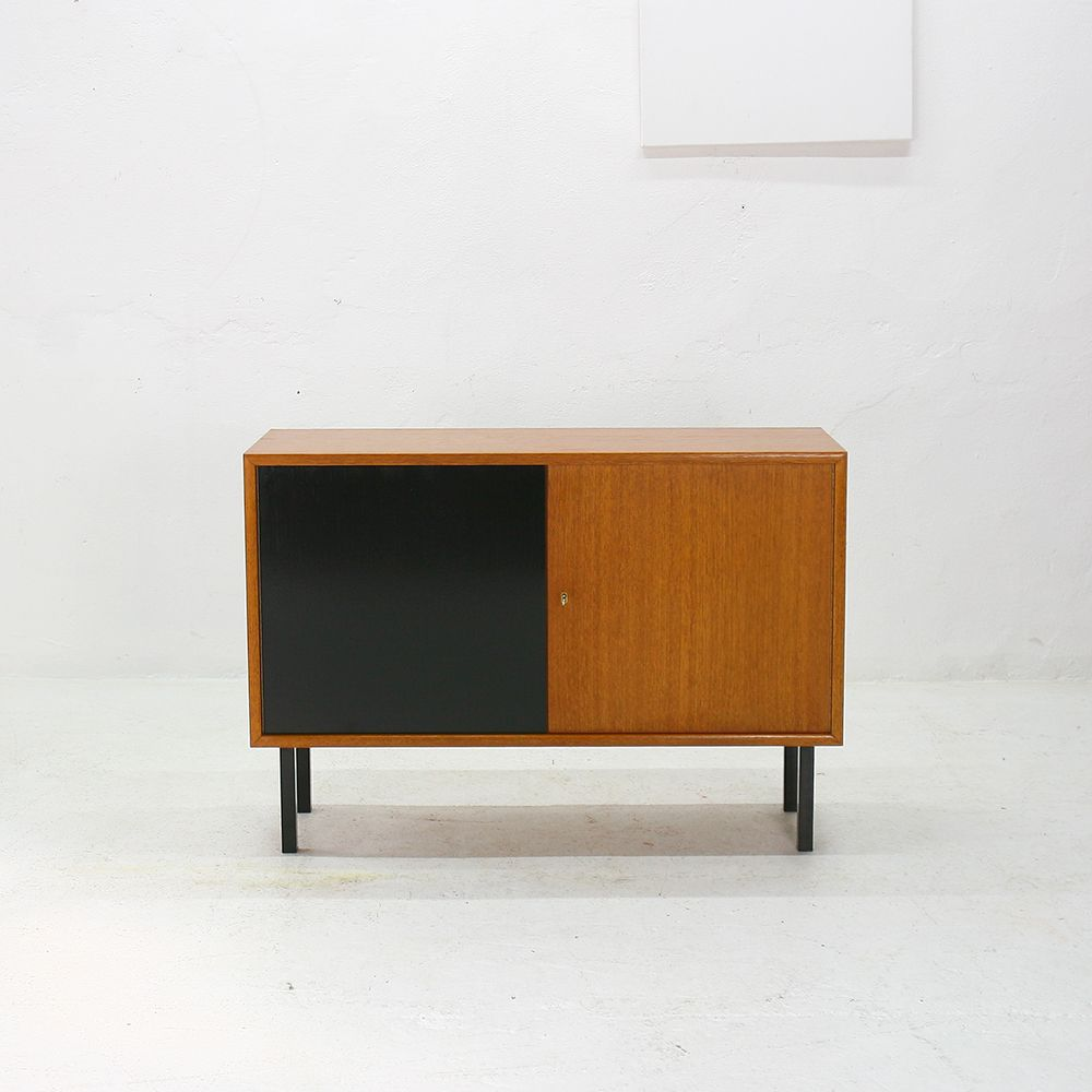 German Teak And Steel Commode From Wk Mbel 1960s For Sale At Pamono
