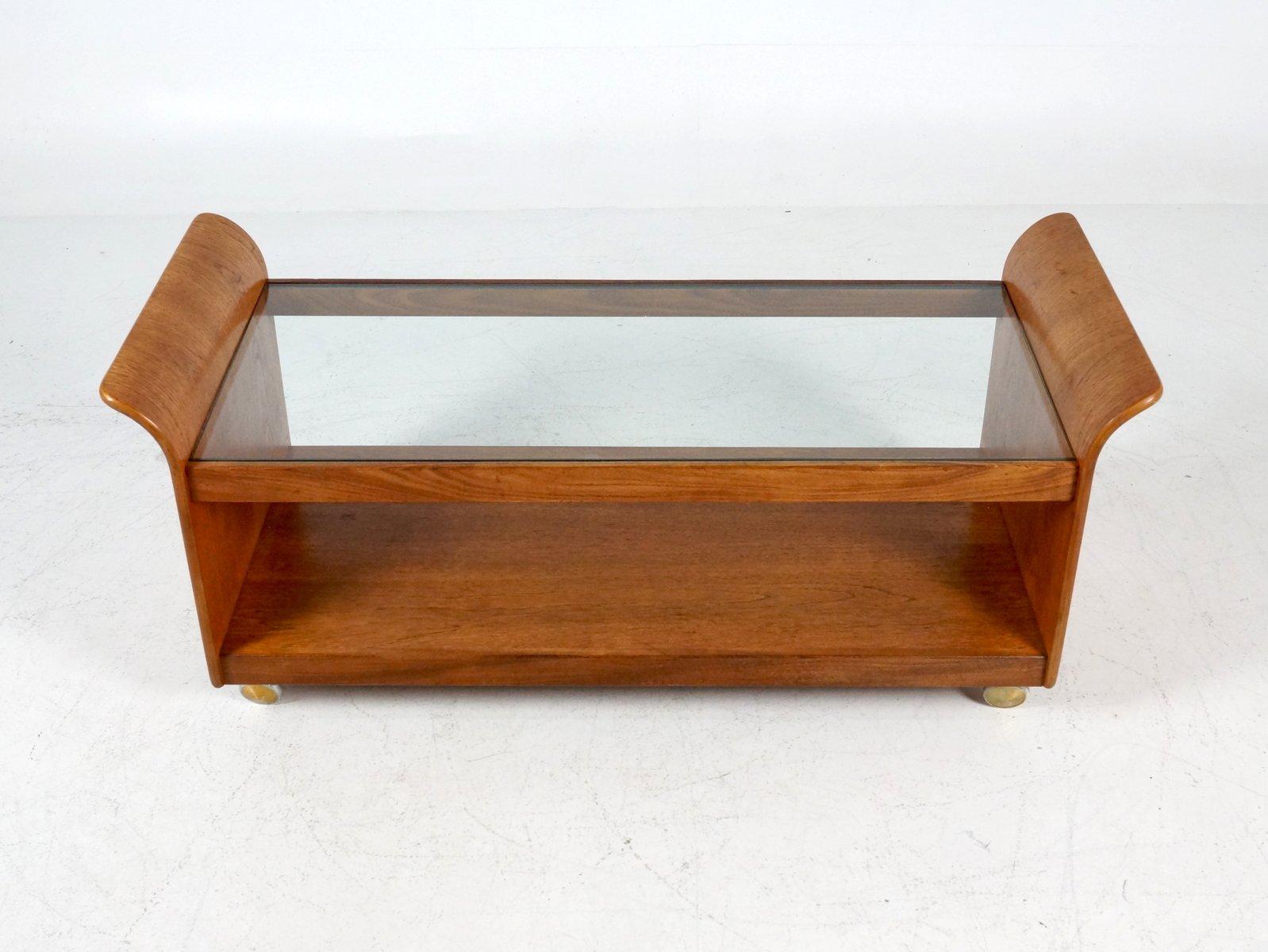 britischer serviertisch mit rollen 1960er bei pamono kaufen. Black Bedroom Furniture Sets. Home Design Ideas