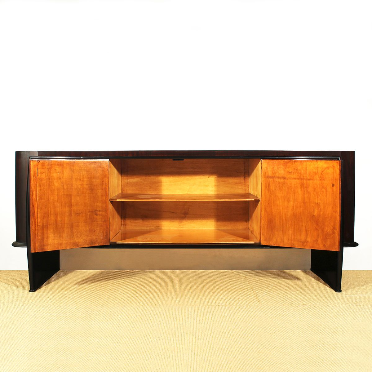 Italian art deco sideboard 1930s for sale at pamono for Miroir art deco 1930