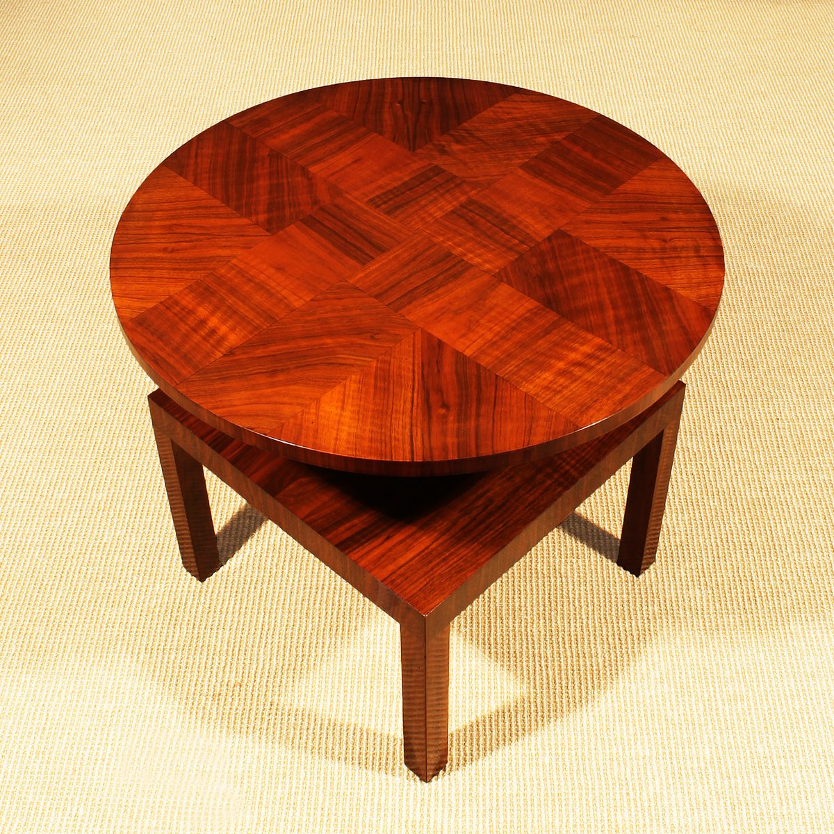 french art deco cubist side table 1930s for sale at pamono. Black Bedroom Furniture Sets. Home Design Ideas