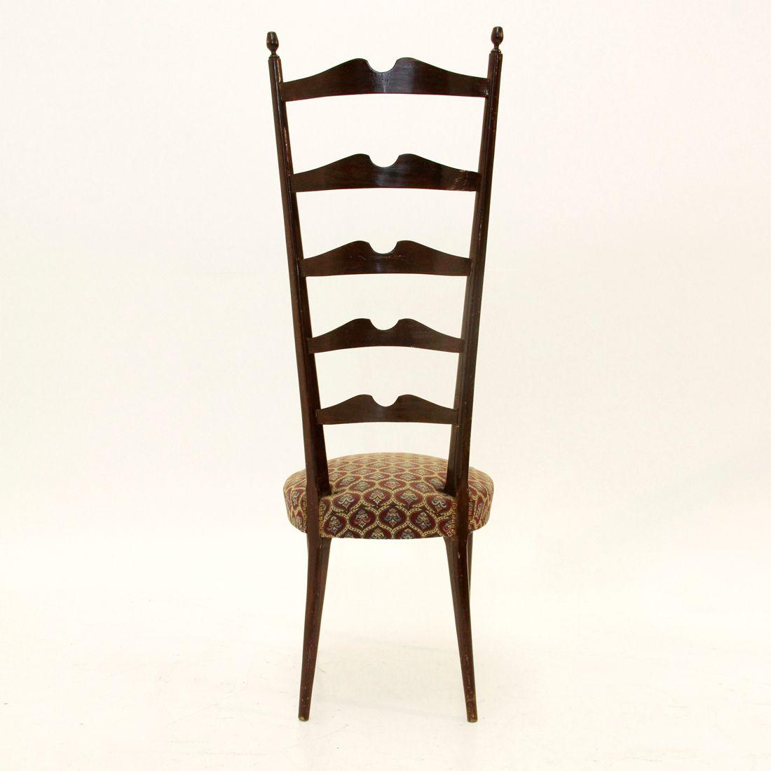 chaise d 39 entr e mid century italie 1950s en vente sur pamono. Black Bedroom Furniture Sets. Home Design Ideas