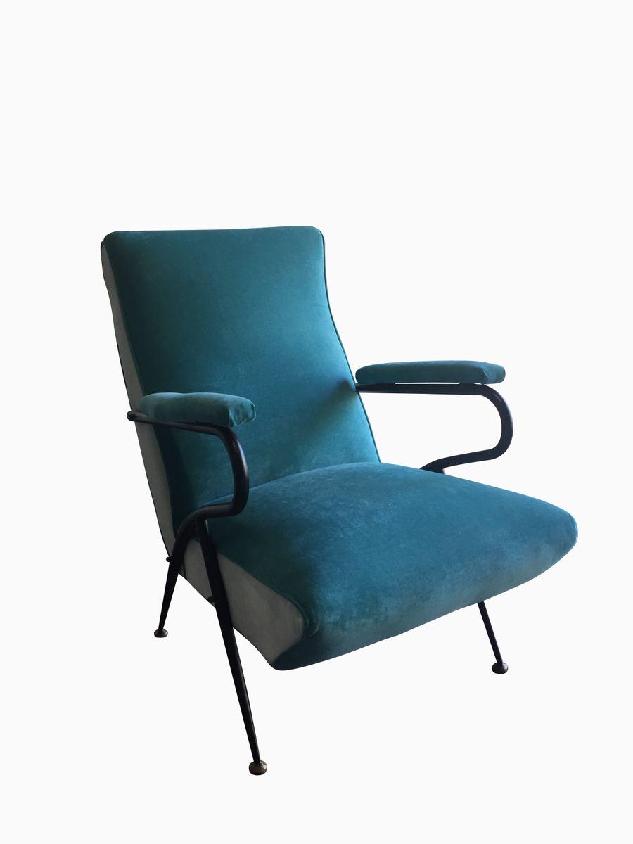 t rkise vintage sessel 2er set bei pamono kaufen. Black Bedroom Furniture Sets. Home Design Ideas
