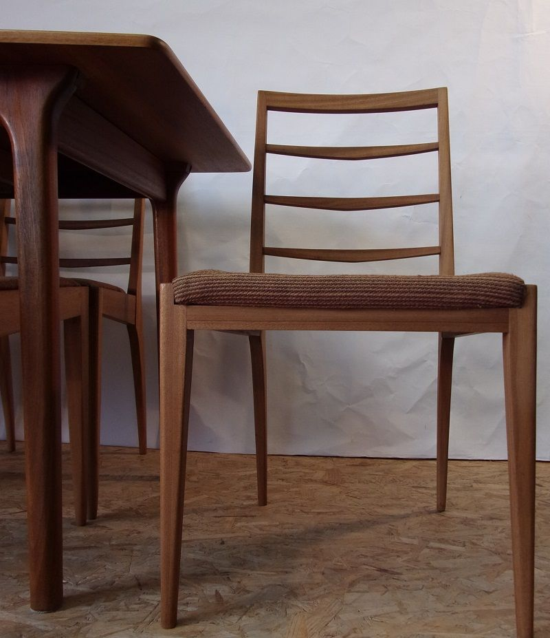 Dining Table And Chairs From Mac Intosh Set Of 7 For Sale At Pamono