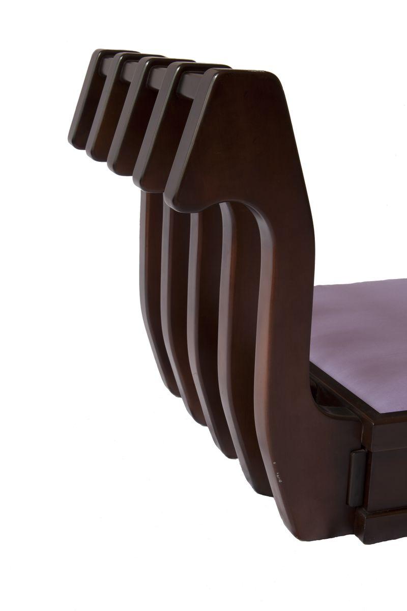 Italian Five Seater Sectional Gooseneck Sofa 1970s For