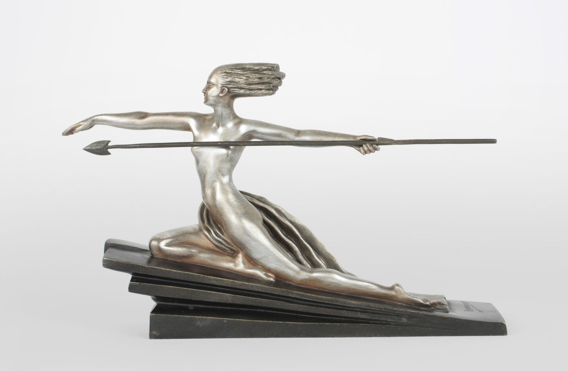 Amazon Art Deco Bronze Figure By Marcel Andr Bouraine For