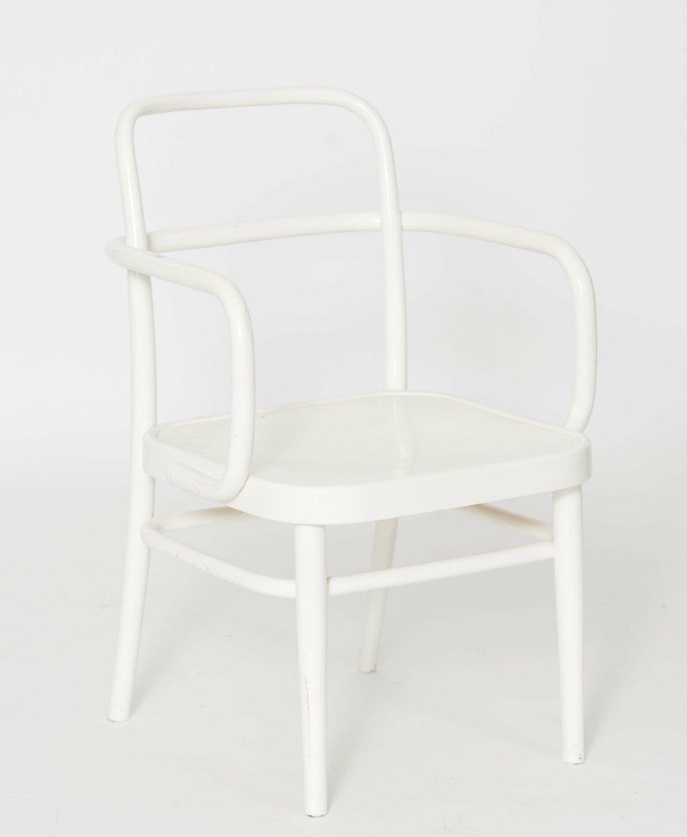 sterreichische wei e a 64 f bugholz st hle von thonet 1929 4er set bei pamono kaufen. Black Bedroom Furniture Sets. Home Design Ideas