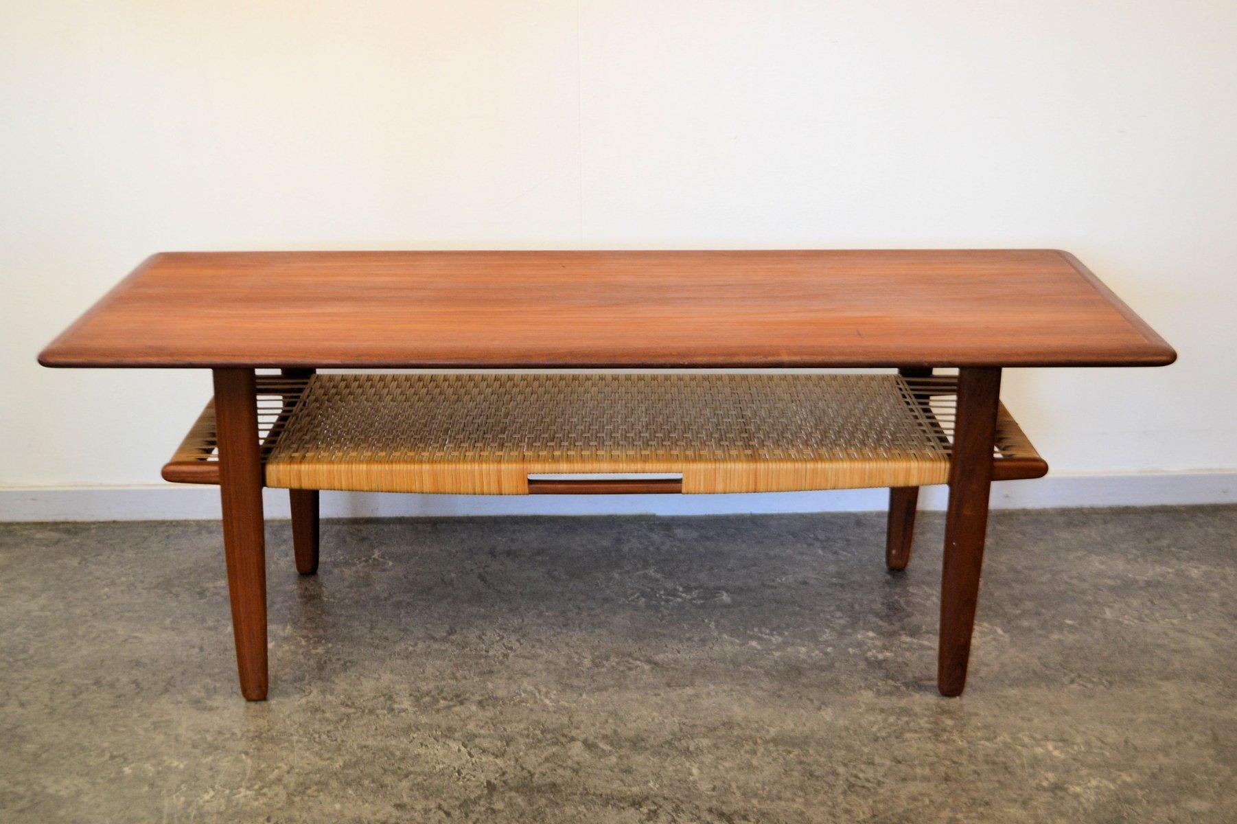Teak Coffee Table By Kurt Stervig For Jason M Bler