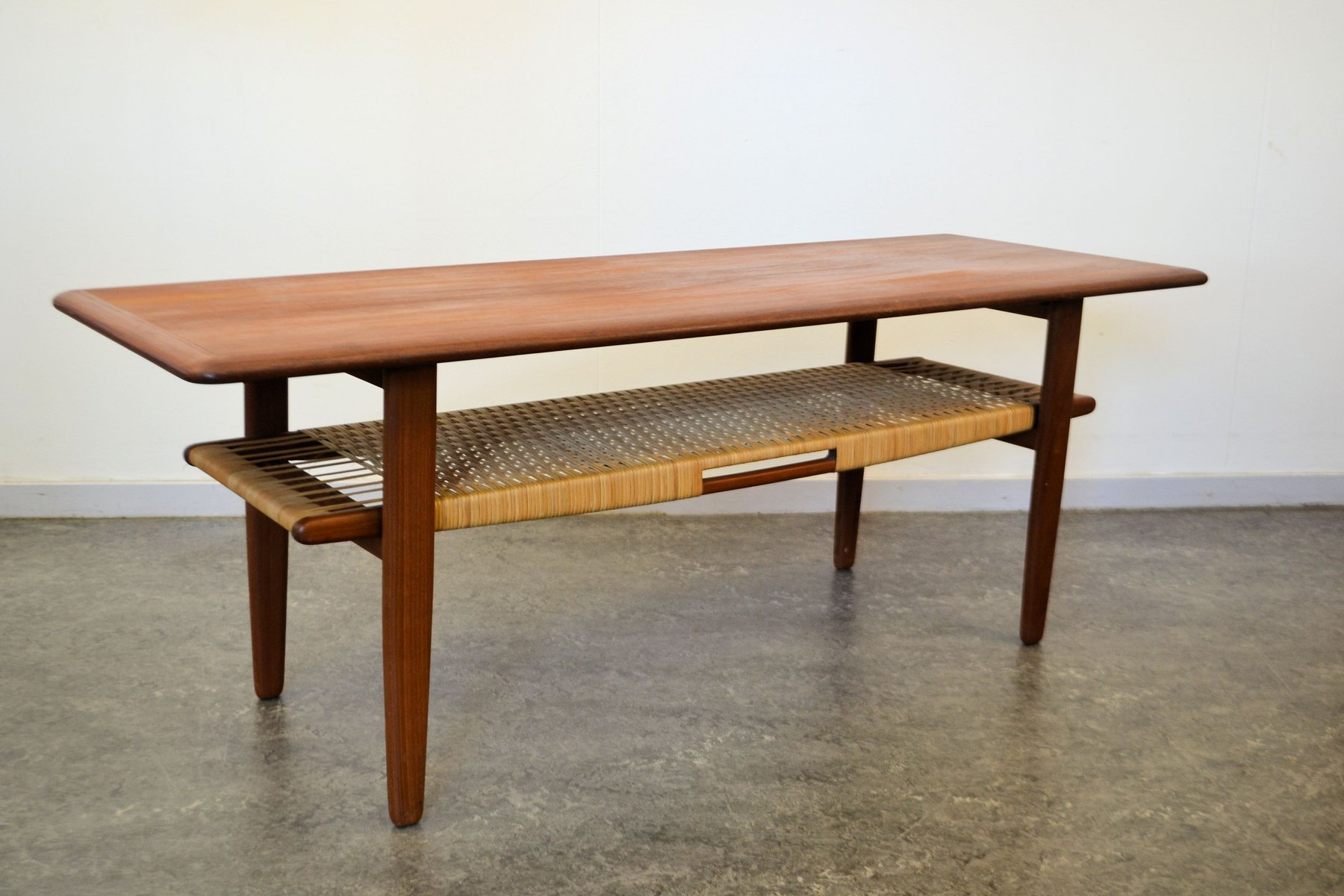 Teak Coffee Table by Kurt ˜stervig for Jason M¸bler for sale at Pamono