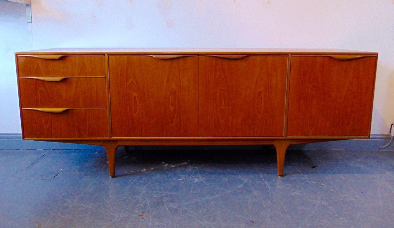 British Vintage Teak Sideboard By A H Mcintosh For