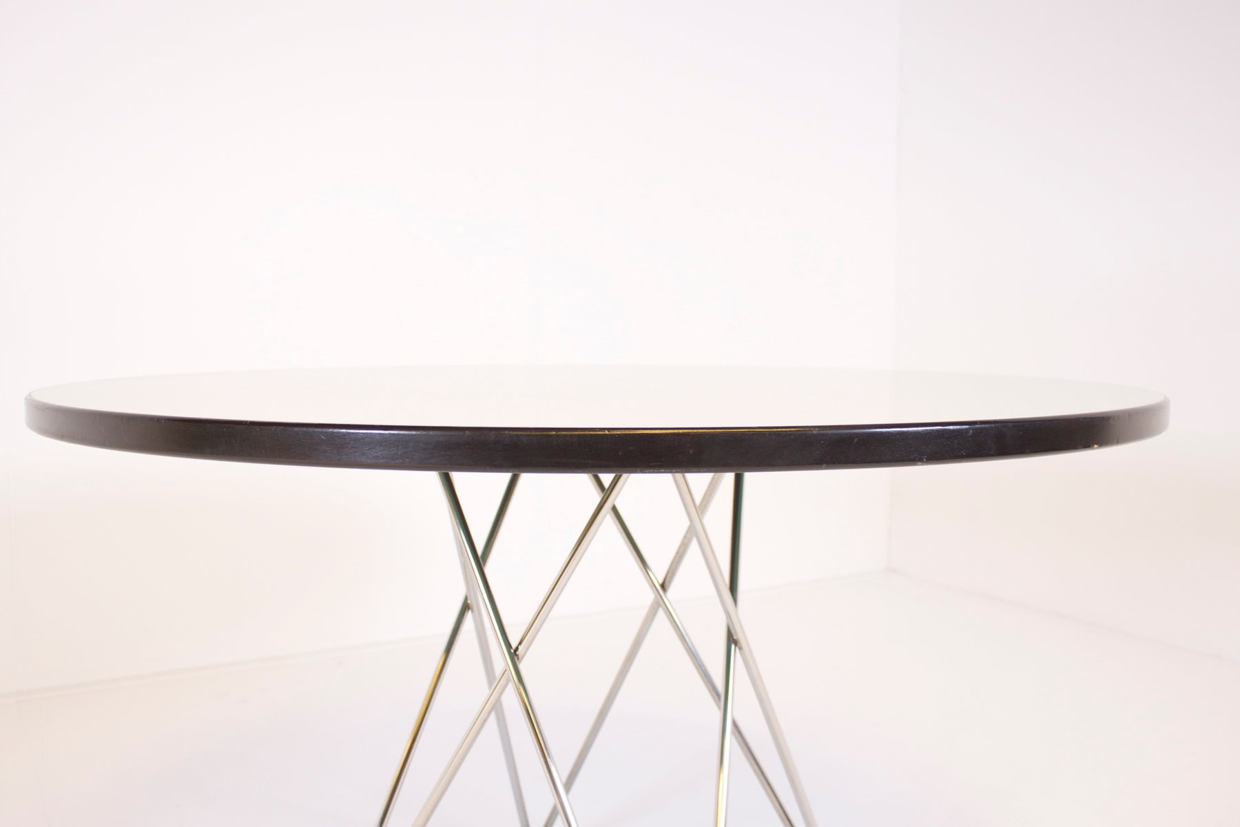 austrian formica and chrome dining table from thonet for sale at  - austrian formica and chrome dining table from thonet
