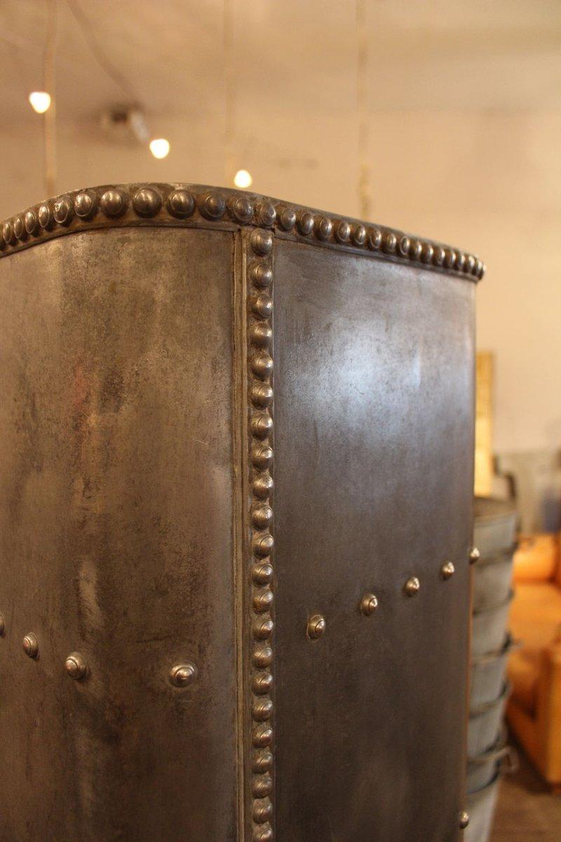 gro es industrielles regal aus genietetem aluminium bei pamono kaufen. Black Bedroom Furniture Sets. Home Design Ideas