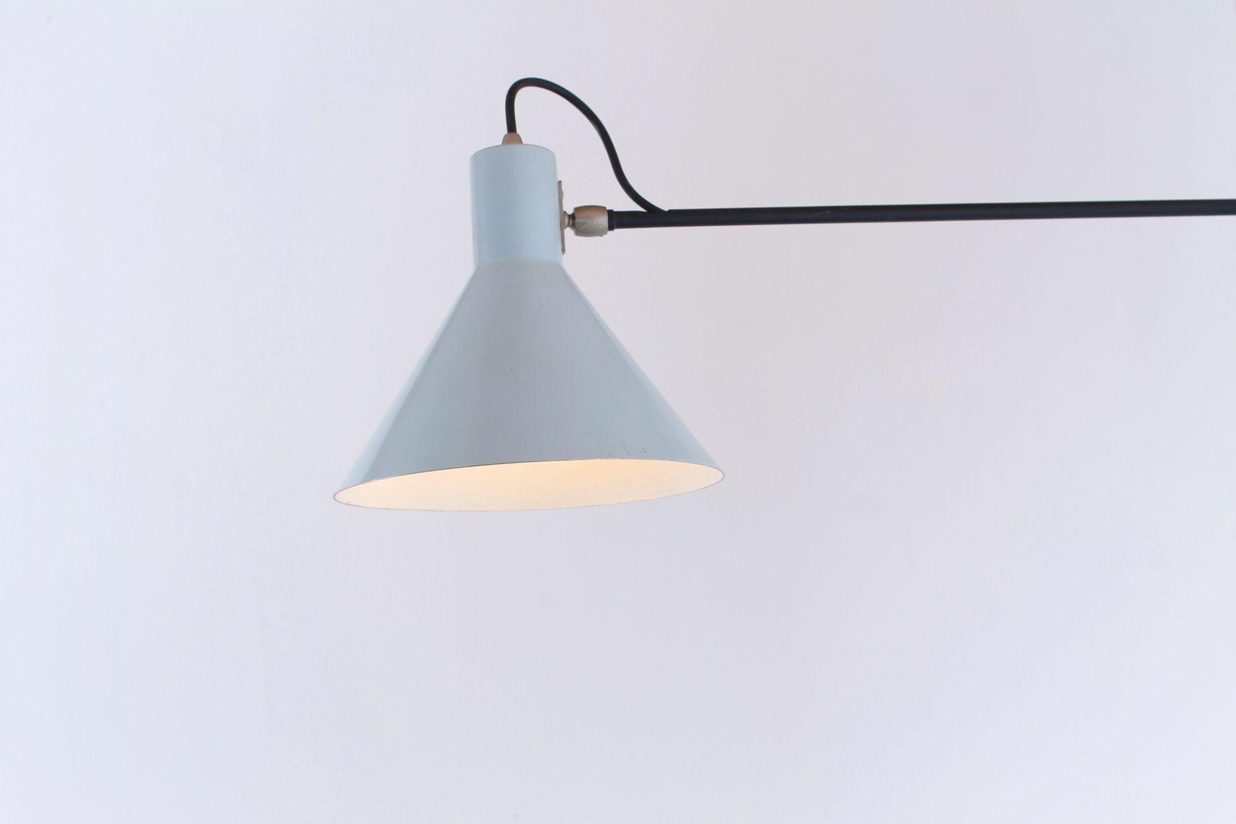 wandlampen mit gelenk von j j m hoogervorst f r anvia 1950er 2er set bei pamono kaufen. Black Bedroom Furniture Sets. Home Design Ideas