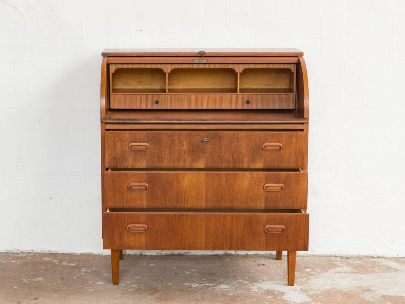 d nischer teak sekret r 1960er bei pamono kaufen. Black Bedroom Furniture Sets. Home Design Ideas