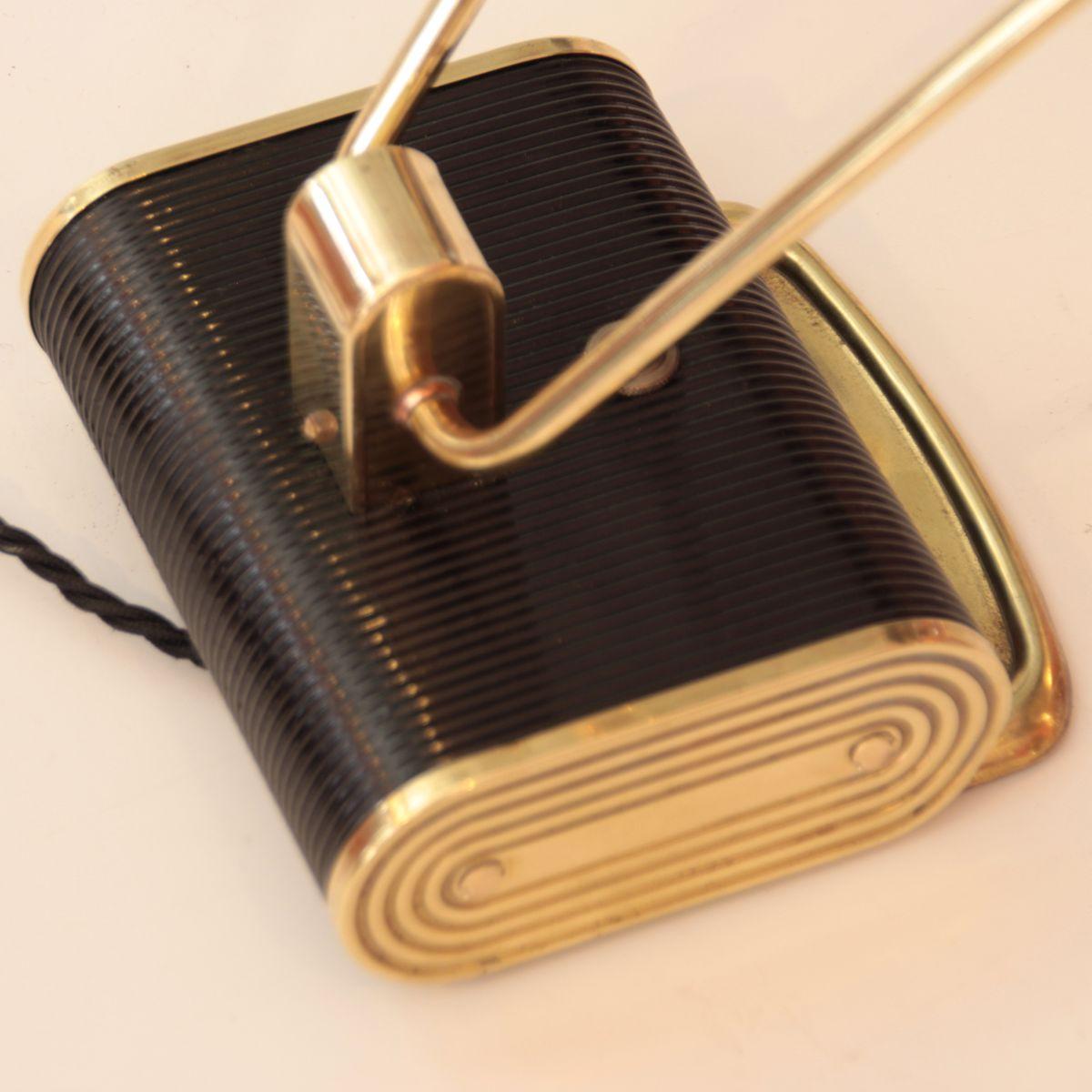 lampe de bureau art d co par eileen gray pour jumo france 1940 en vente sur pamono. Black Bedroom Furniture Sets. Home Design Ideas