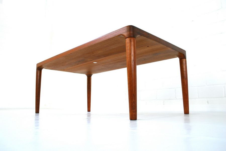 Danish solid teak coffee table from glostrup 1960s for sale at pamono Solid teak coffee table