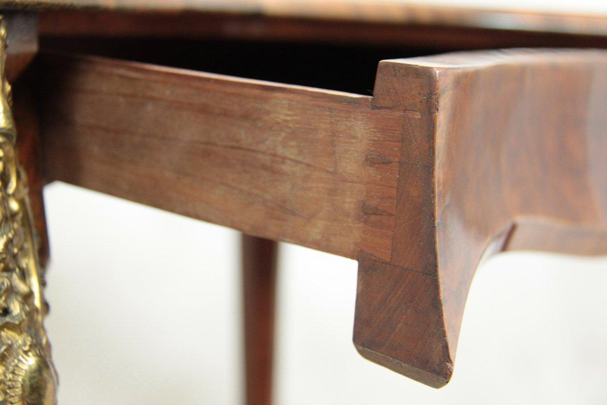 Ikea Schuhregal Mit Spiegel ~ Damen Schreibtisch in Nierenform, 1860er bei Pamono kaufen