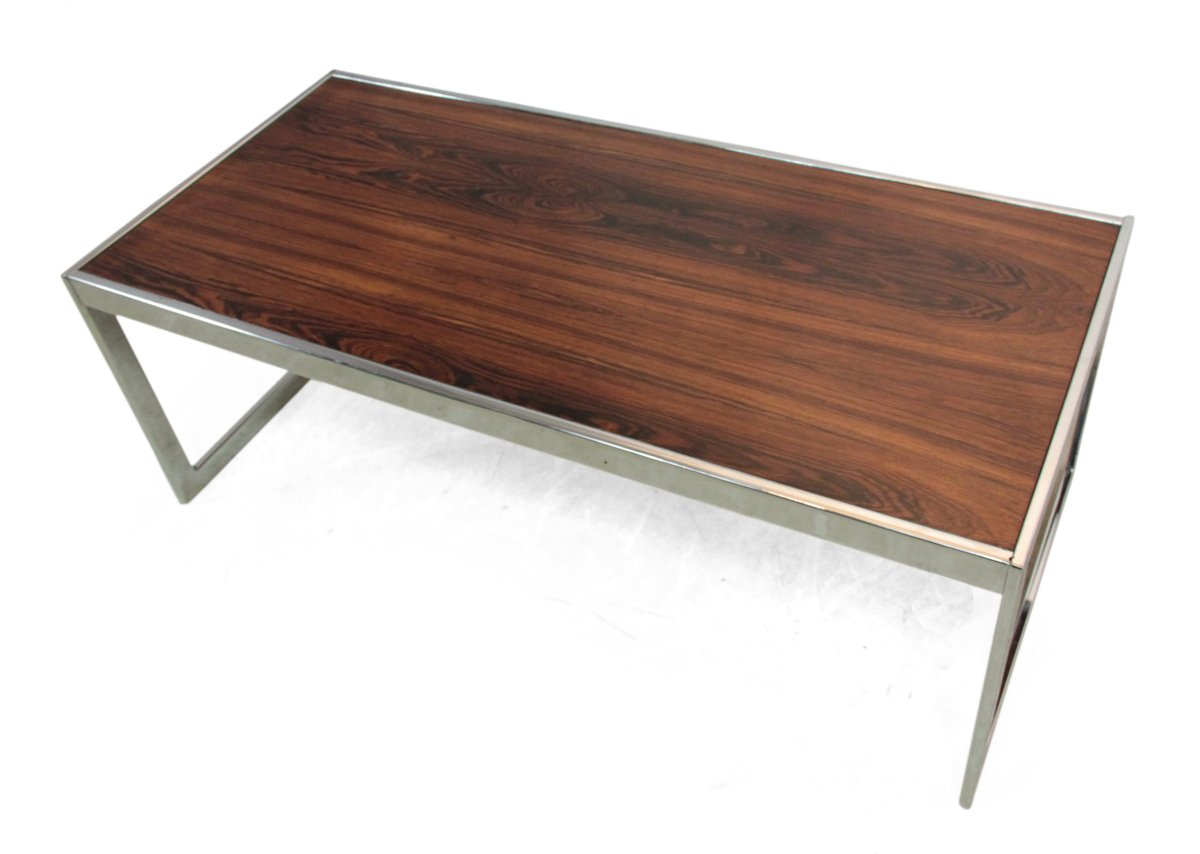English Rosewood Coffee Table From Howard Miller 1960s