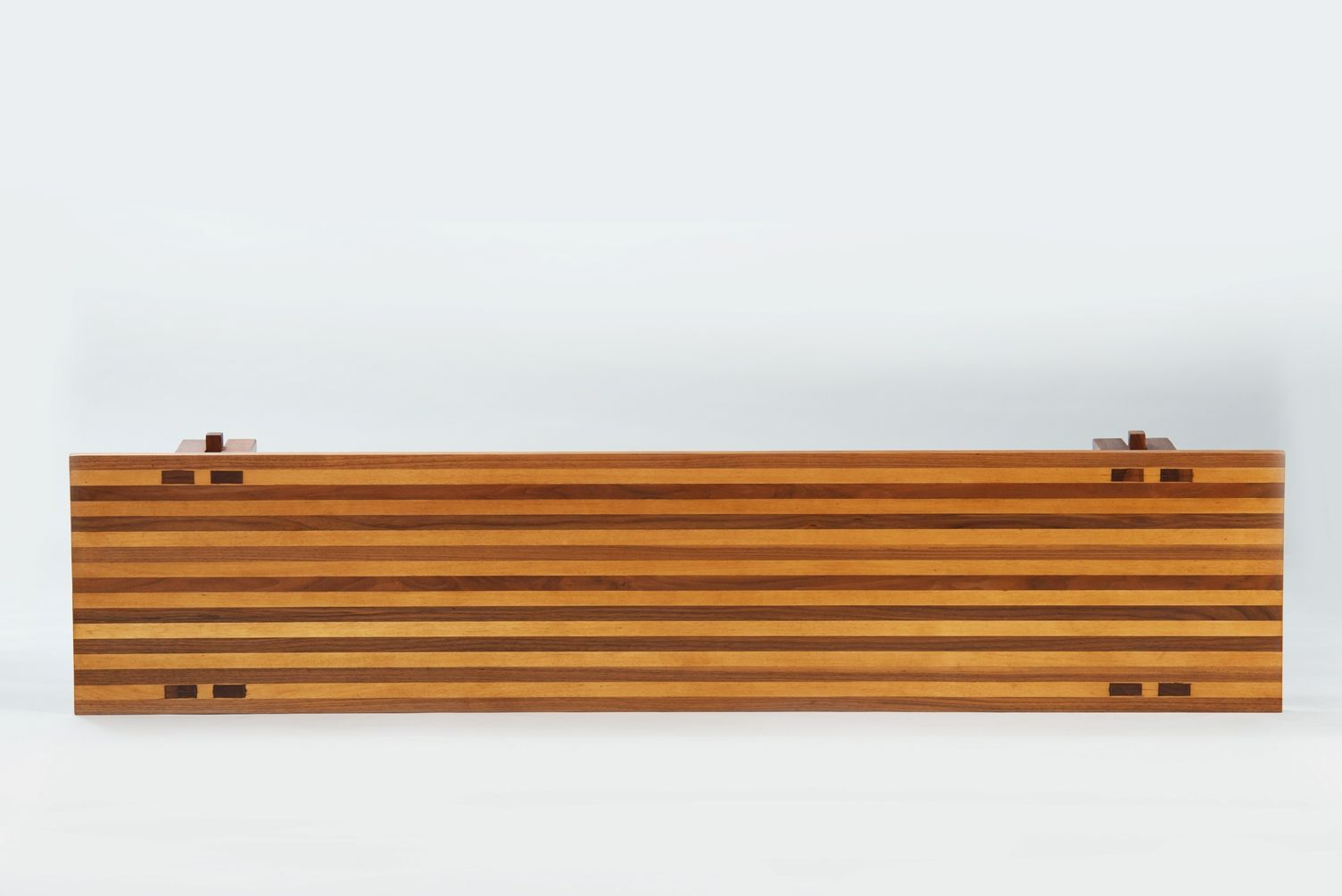 Vintage italian two tone wooden bench for sale at pamono Wooden bench for sale