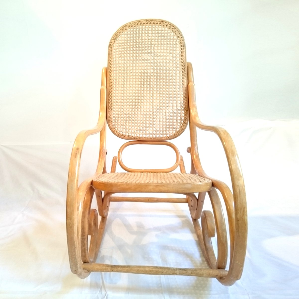 dinette bentwood rocking chair from habitat 1970s for sale at pamono. Black Bedroom Furniture Sets. Home Design Ideas