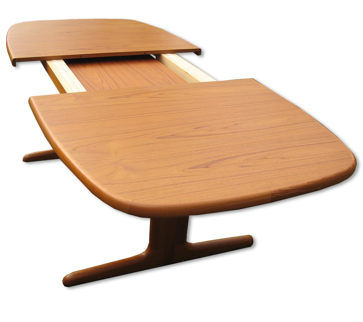 Teak Oval Dining Table Danish Extendable Oval Teak Dining Table From Skovby 1970s For