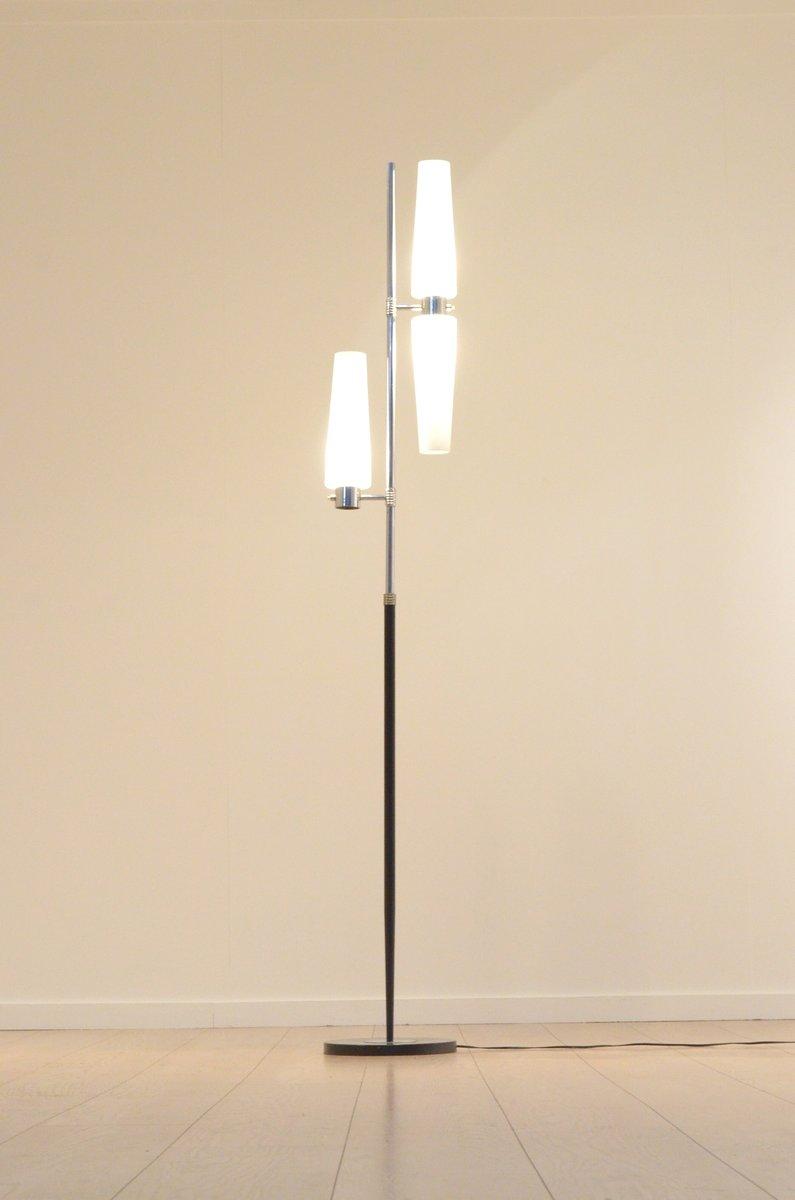 franz sische stehlampe aus schwarzem metall von monix 1960er bei pamono kaufen. Black Bedroom Furniture Sets. Home Design Ideas
