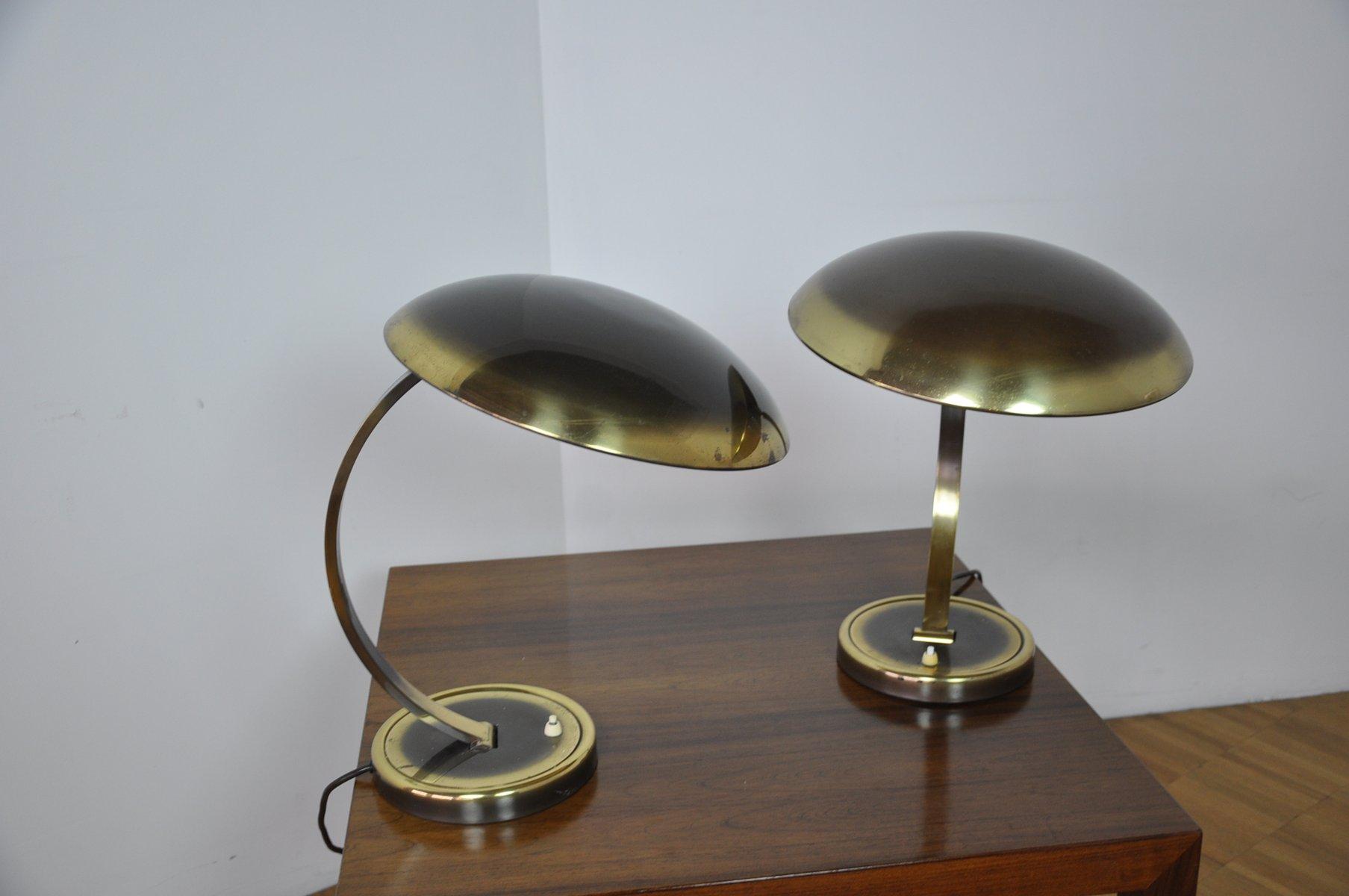 german brass desk lamp by christian dell for kaiser idell. Black Bedroom Furniture Sets. Home Design Ideas