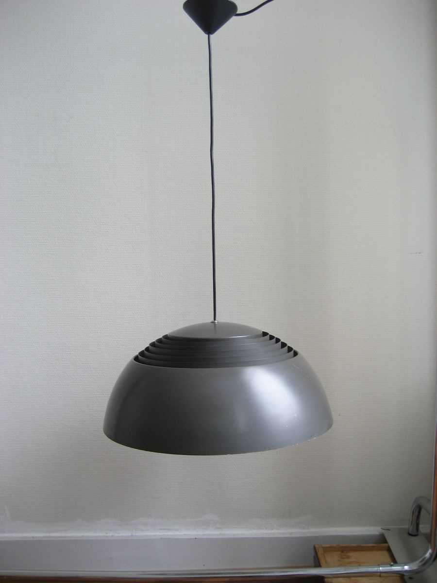 aj royal pendant lamp by arne jacobsen for louis poulsen 1957 for sale at pamono. Black Bedroom Furniture Sets. Home Design Ideas