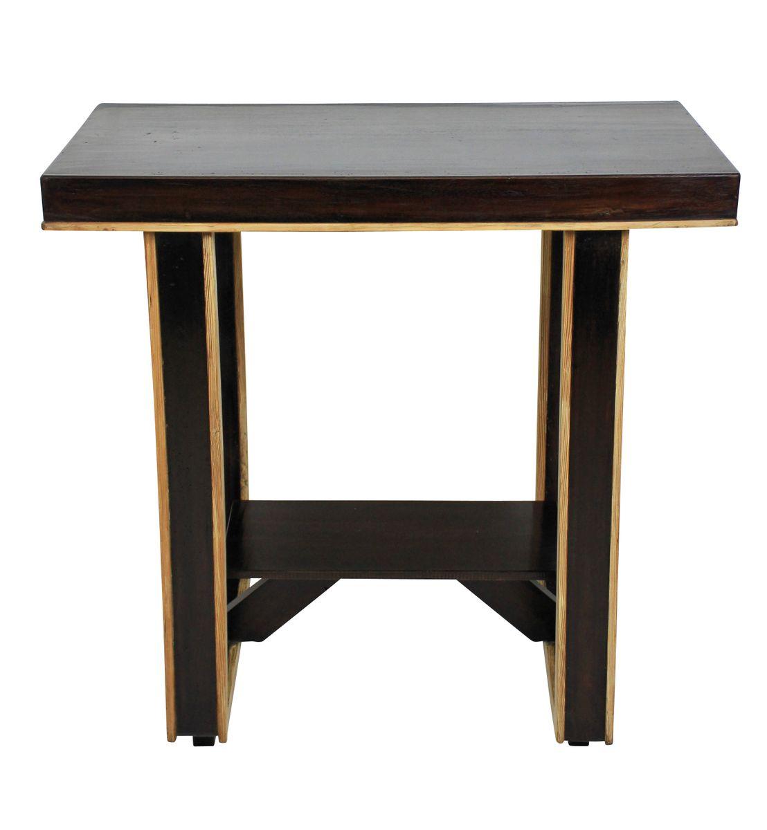 table d 39 appoint vintage bicolore italie en vente sur pamono. Black Bedroom Furniture Sets. Home Design Ideas