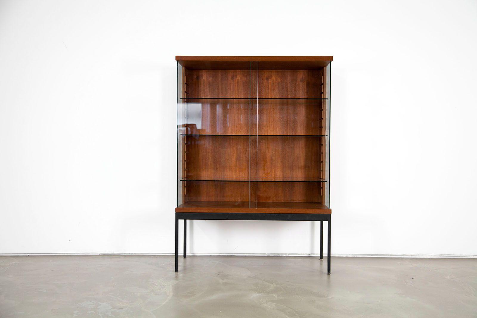 mid century teak cabinet by dieter w ckerlin for behr. Black Bedroom Furniture Sets. Home Design Ideas